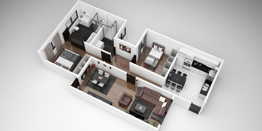 Modelos de plantas de casas em 3d gr tis casas modernas for Casa 3d gratis