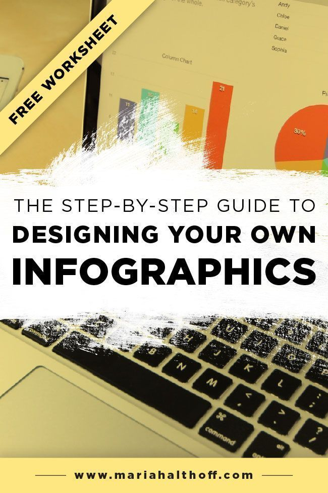 The step by guide to designing your own infographics graphic design tools tips tutorials also rh pinterest