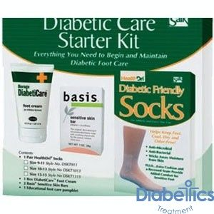 Salk Company Dskt1013 Diabetic Foot Care Starter Kit With