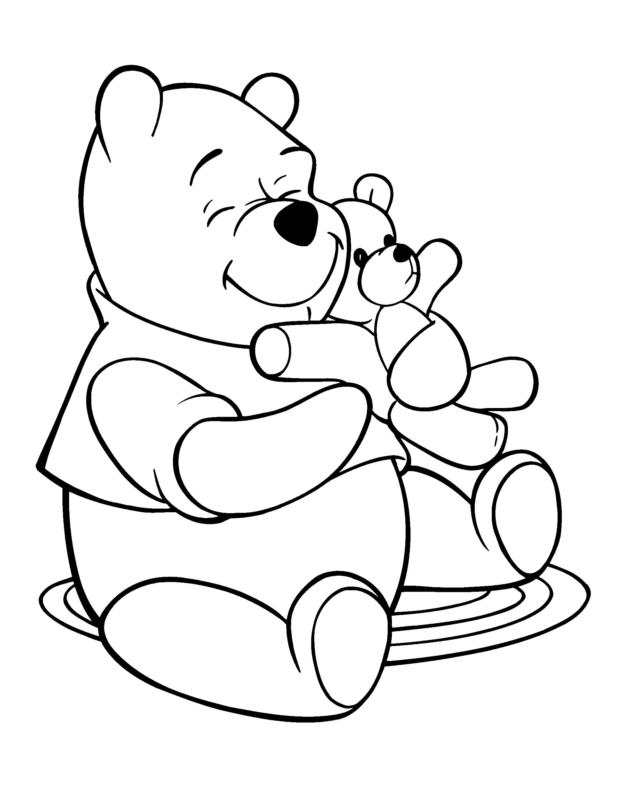 Coloring book pages of pooh bear ~ Pooh Bear Coloring Pages Online | Thousand of the Best ...