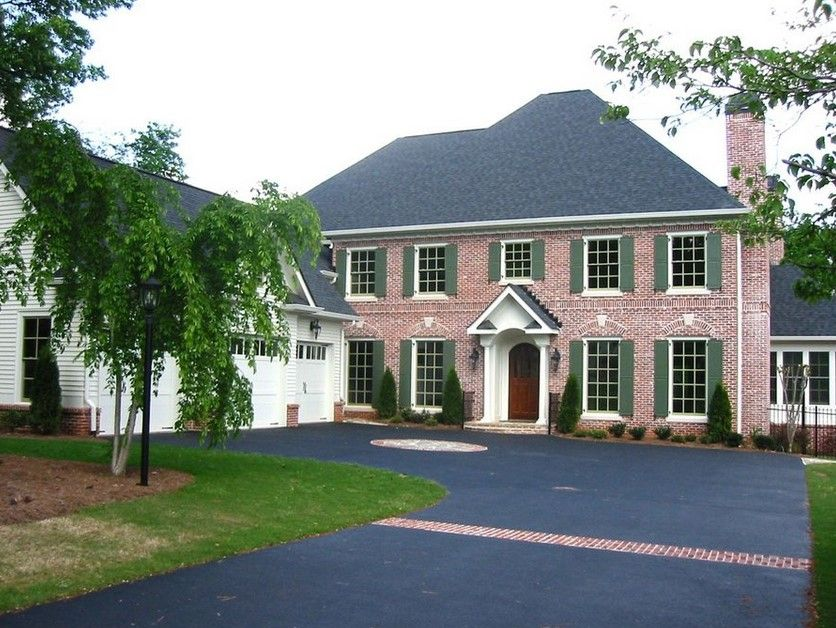 Inspiring Exterior Paint Colors For Red Brick Homes Plans - Exterior ideas for brick homes