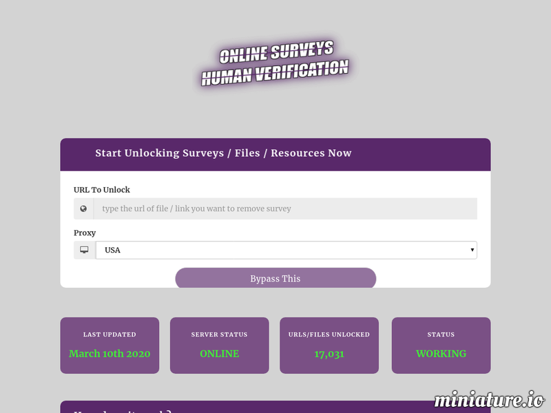 If You Are Looking For How To Bypass Human Verification On Android Or How To Bypass Surveys To Downloda File Then You Have In 2020 Online Surveys Surveys How To Remove