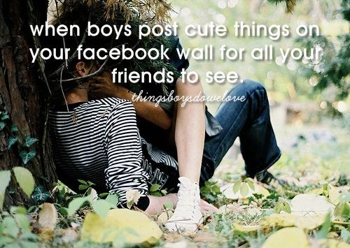 Cute wall post for your boyfriend