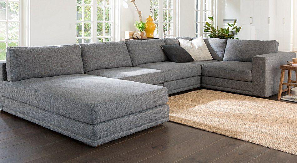Quattro fabric modular lounges plush furniture for Sofa quattro