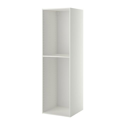 Metod Structure Element Armoire Blanc 60x60x200 Cm Ikea Ikea Armoire Ikea Armoire Blanche