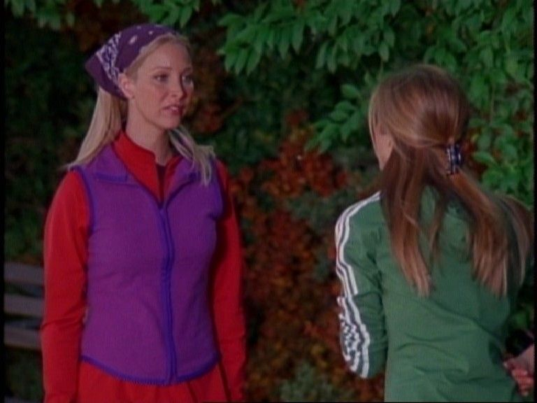 6 Season Phoebe's Rachel Running Style Embarrasses ~ Friends H29EDI