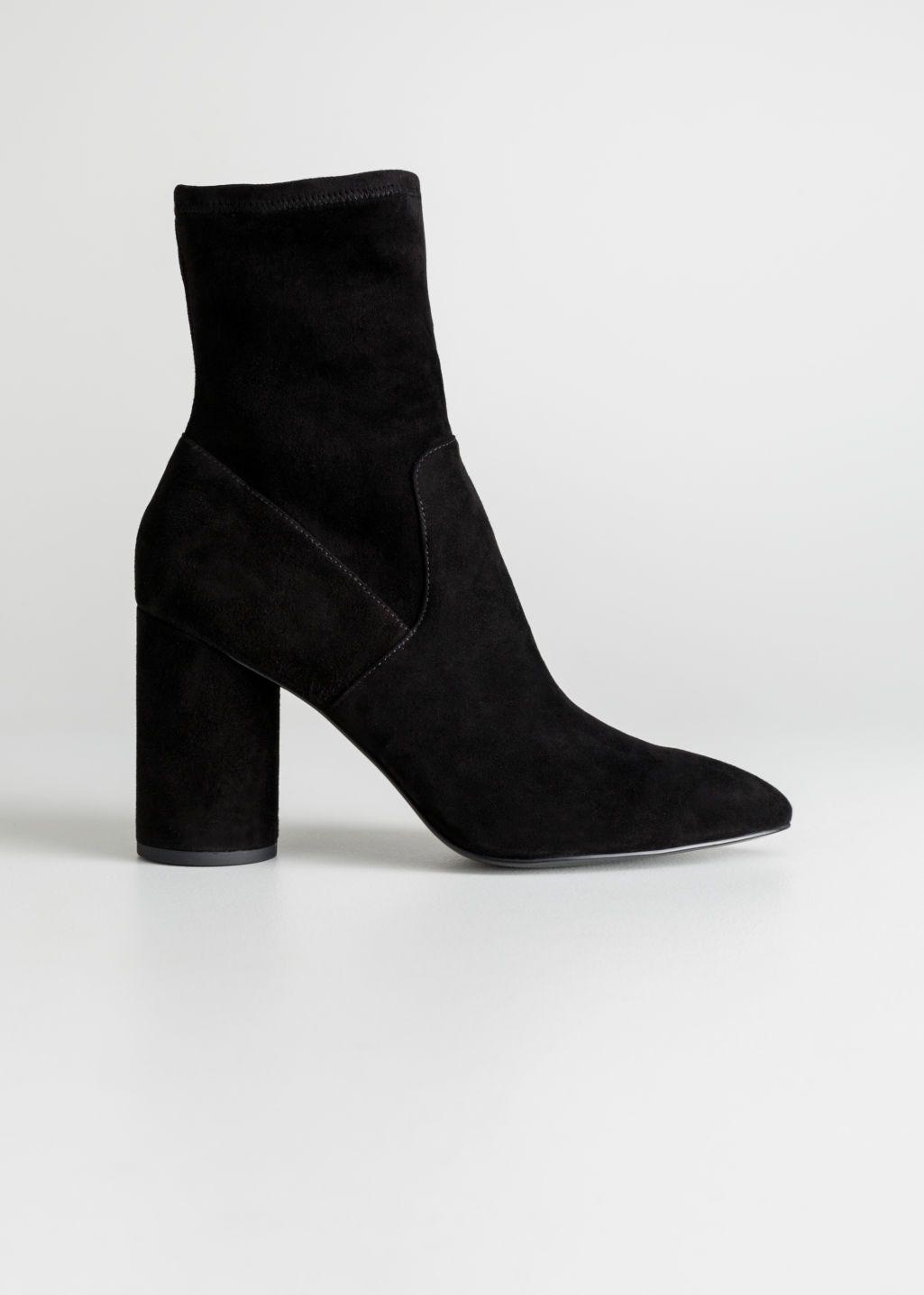 Ankelboots | Sort | Dame | H&M DK | Støvler, Ankelstøvler