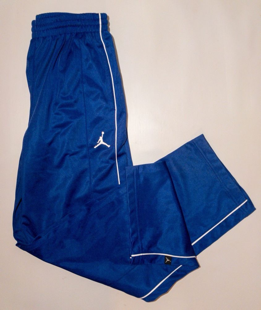 45adbab1f5f1 Nike Jordan Athletic Pants Youth Boys Size Large (13-15 Yrs) Blue White  Pants  NikeJordan  AthleticSweatPants  Everyday