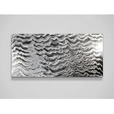 Is this too hard for my bedroom? I like it!  Found it at Wayfair - Polar Encapsulation Wall Art