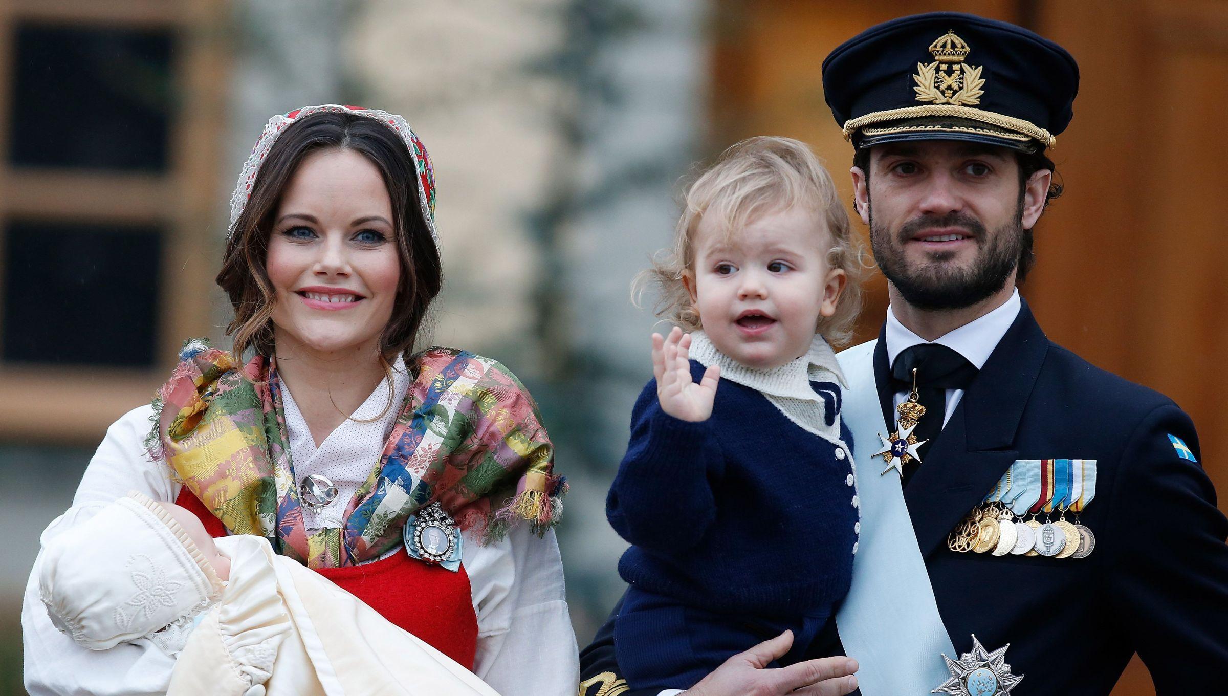 Taufe Prinz Gabriel Von Schweden Prinzessin Sofia Prinz
