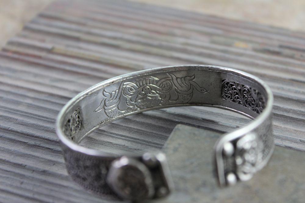 Dharmashop.com - Filagree Dragon Om Mani Bracelet, $29.00 (http://www.dharmashop.com/filagree-dragon-om-mani-bracelet/)