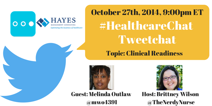 Join me for a HealthcareChat Tweetchat on EHR Clinical