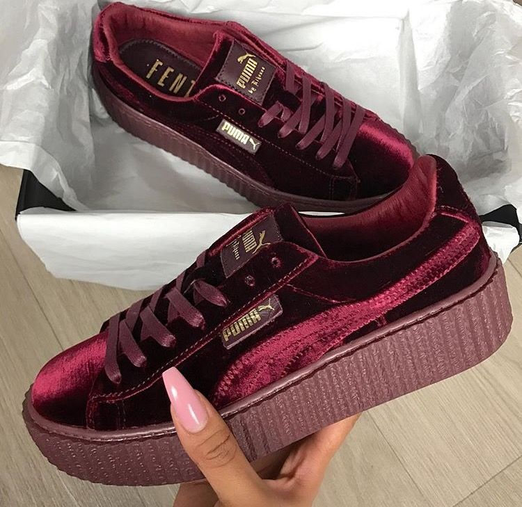 check out b933d b302c pumashoes$29 on | saucy | Shoes, Pumas shoes, Velvet creepers