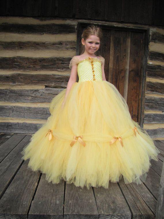 56ca3f90f51a6c Beauté et la bête Belle costume le costume de princesse | Robes pour ...