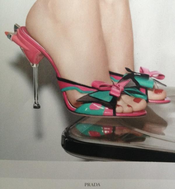 Prada shoes.