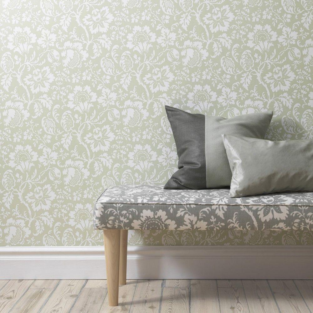 Inredning cover up tapet : Första stora bilden av tapetern Edgar Grön | Living room/bedroom ...