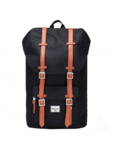 b13f4beea39d Hershal dupe cheaper alternative - Kattee Vintage Style Fashion UNISEX  Casual Travel School Shoulder Backpack bag