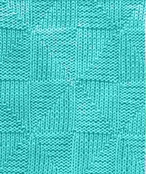 Betty Bettdecken 1000 Strickmuster » 014 Dreiecke | Muster | Strickmuster
