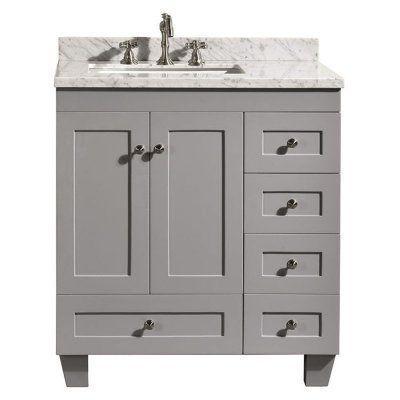 Eviva Acclaim 30 in. Single Bathroom Vanity Set - EVVN69 ...