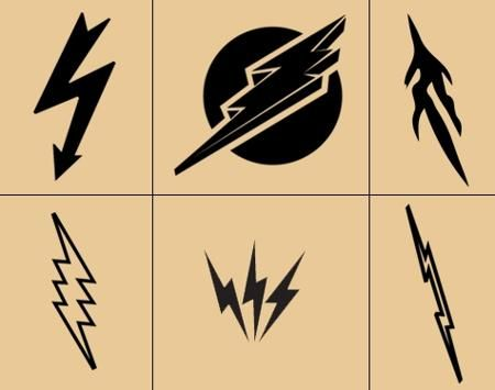 Lightning bolt tattoo meaning and really creative design for Lightning tattoo meaning