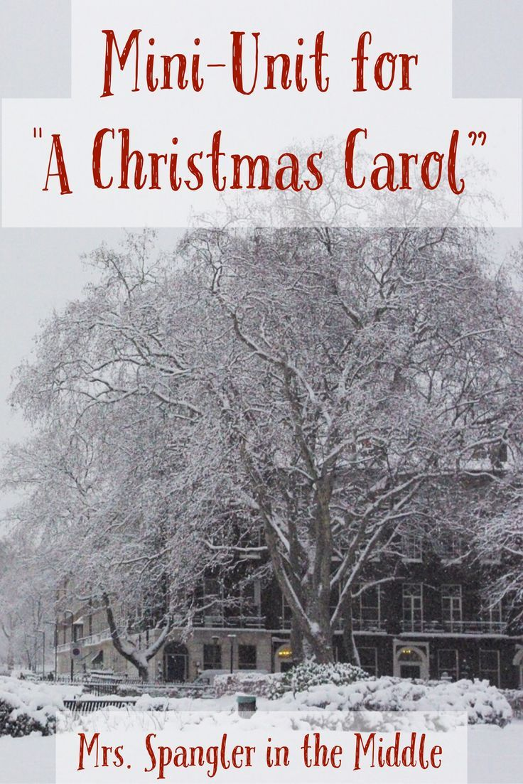 A christmas carol mini unit for the play version pinterest i always love teaching this story at holiday time using the play version and comparing it to the video scene by scene makes for a fun way to compare and ccuart Choice Image