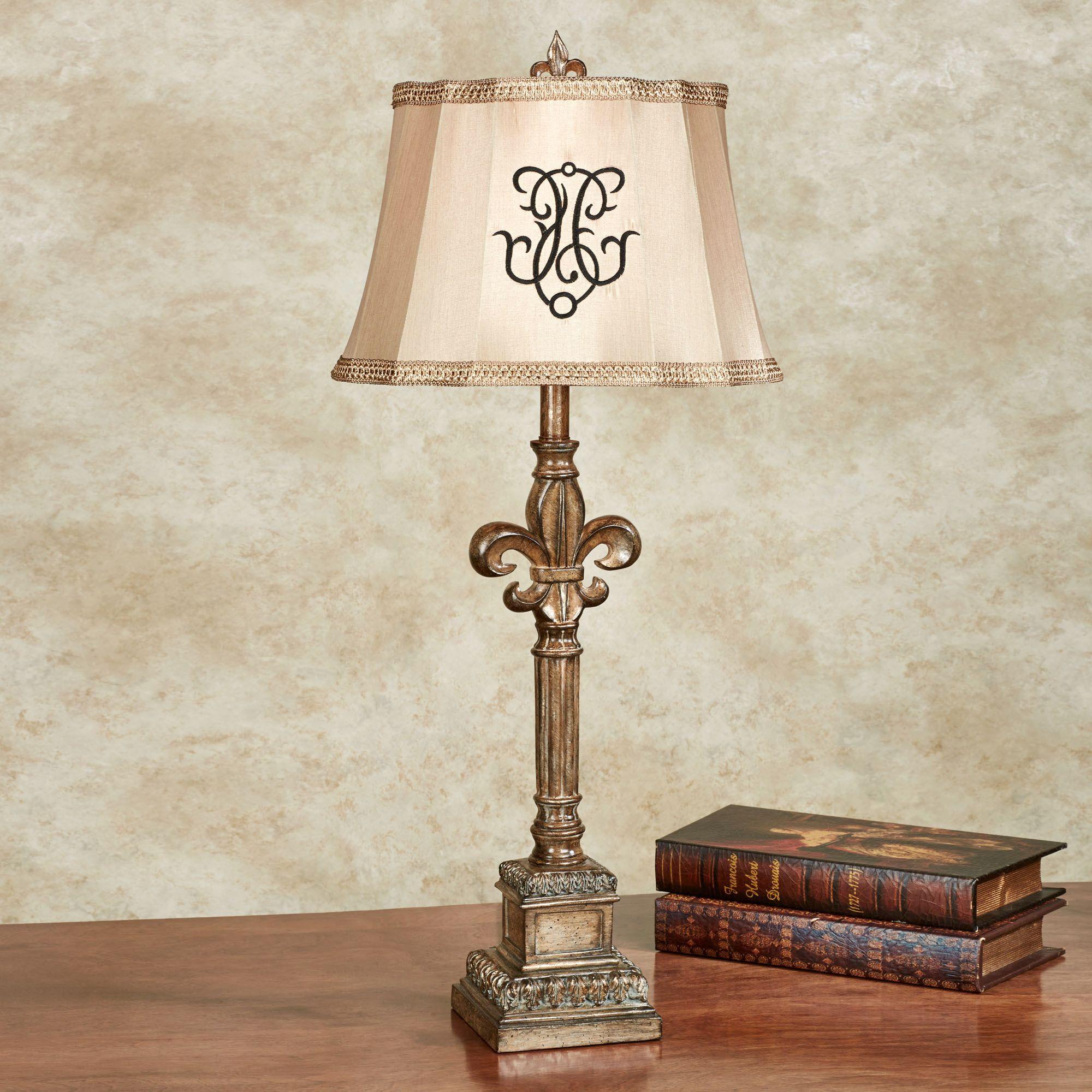 Leena fleur de lis table lamp a future home fleur de lis leena fleur de lis table lamp geotapseo Gallery