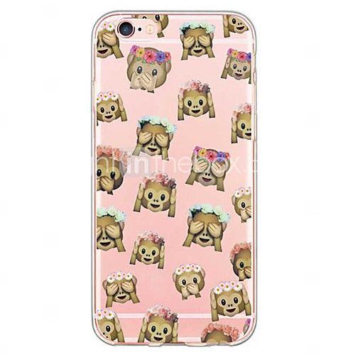 coque iphone 6 emoji singe