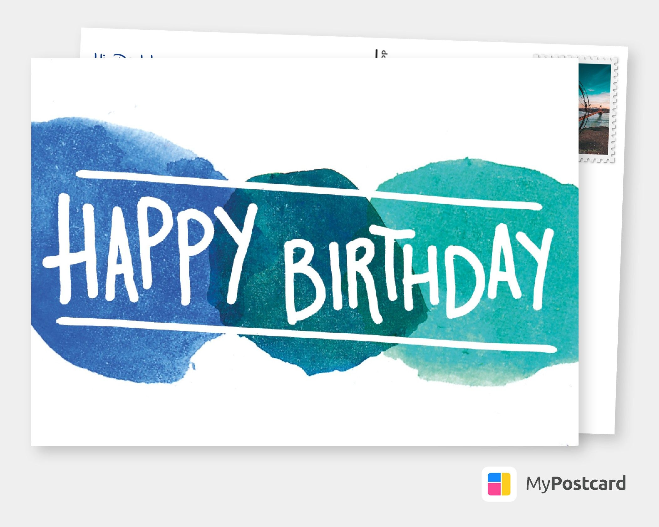 Create Your Own Happy Birthday Cards Free Printable Templates Printed Mailed For You Photo Cards Photo Postcards Greeting Cards Online Sevice Postc Happy Birthday Cards Dad