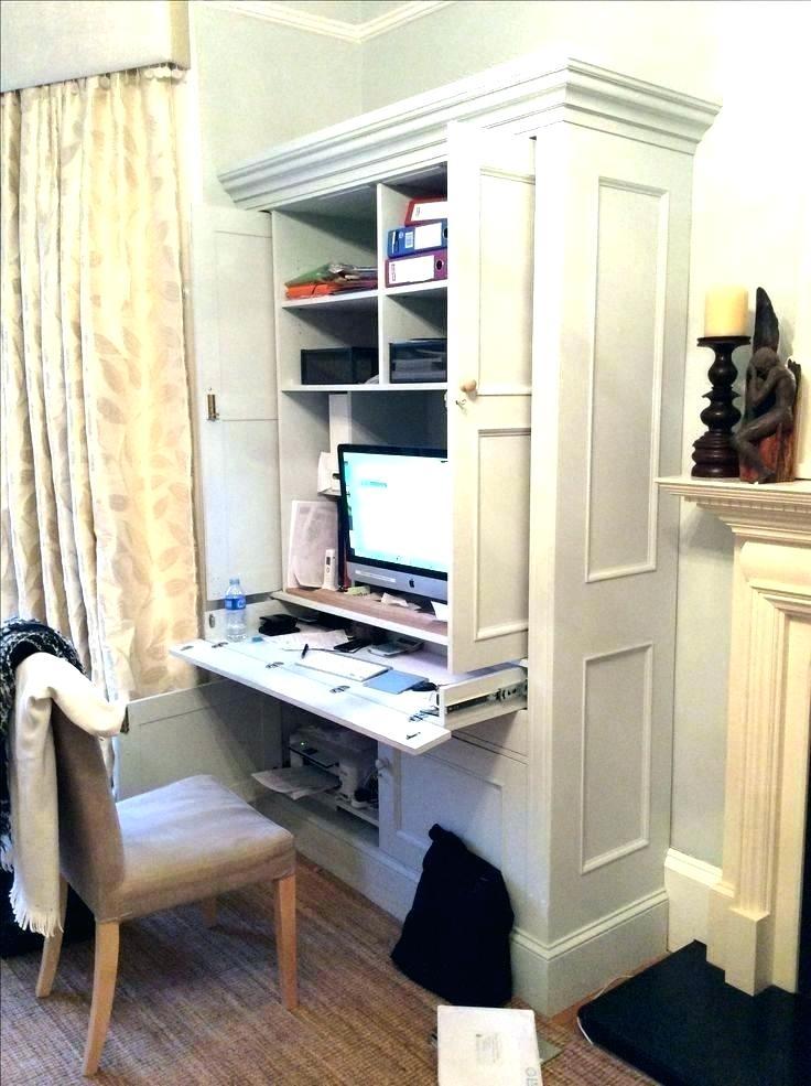 Hidden Desk In A Cabinet Hidden Desk Cabinet Hidden Desk Cabinet