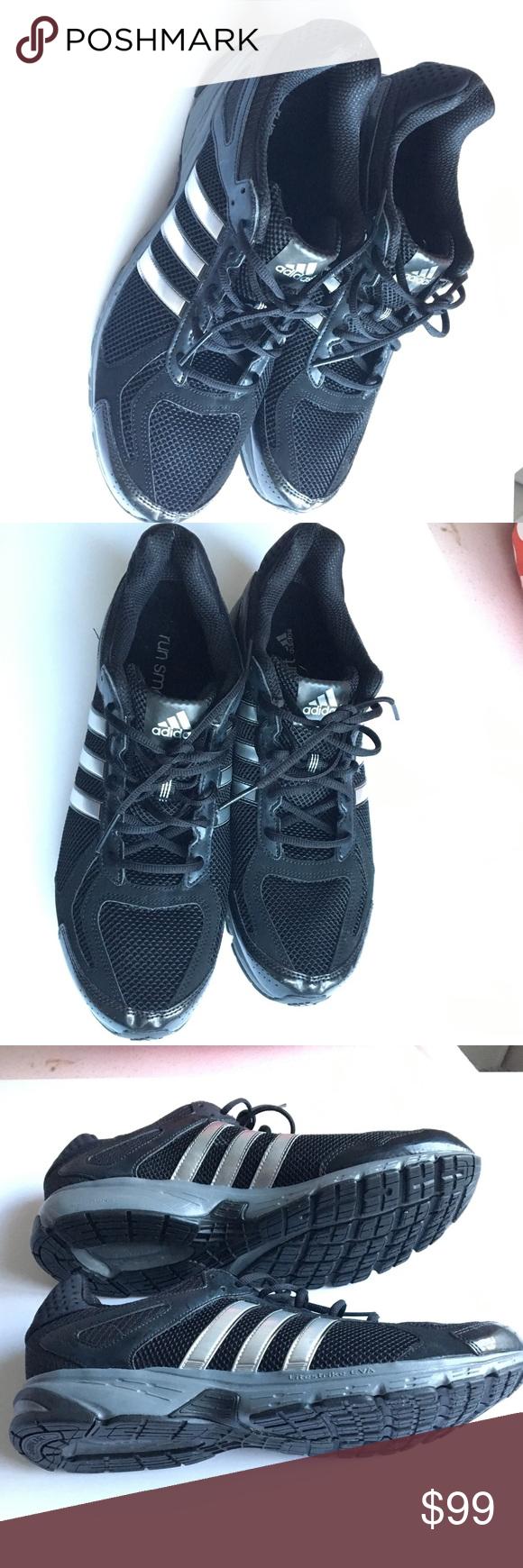 Adidas Triple Black Running Shoes size