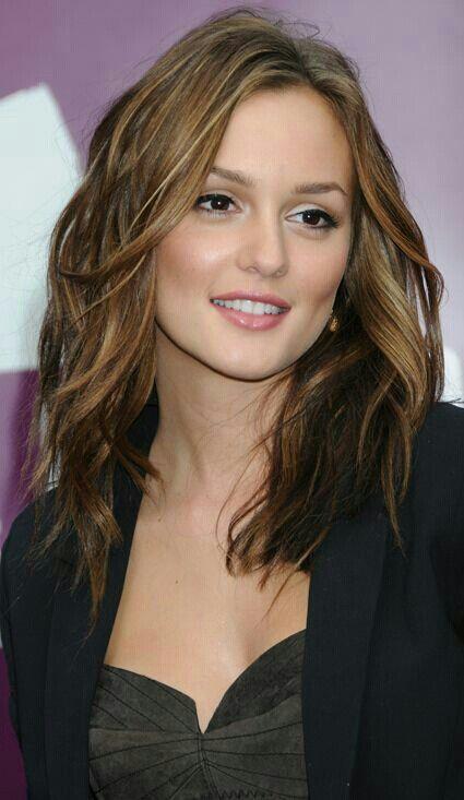 Leighton Meester Hair Lengths Medium Hair Styles Mid Length Hair