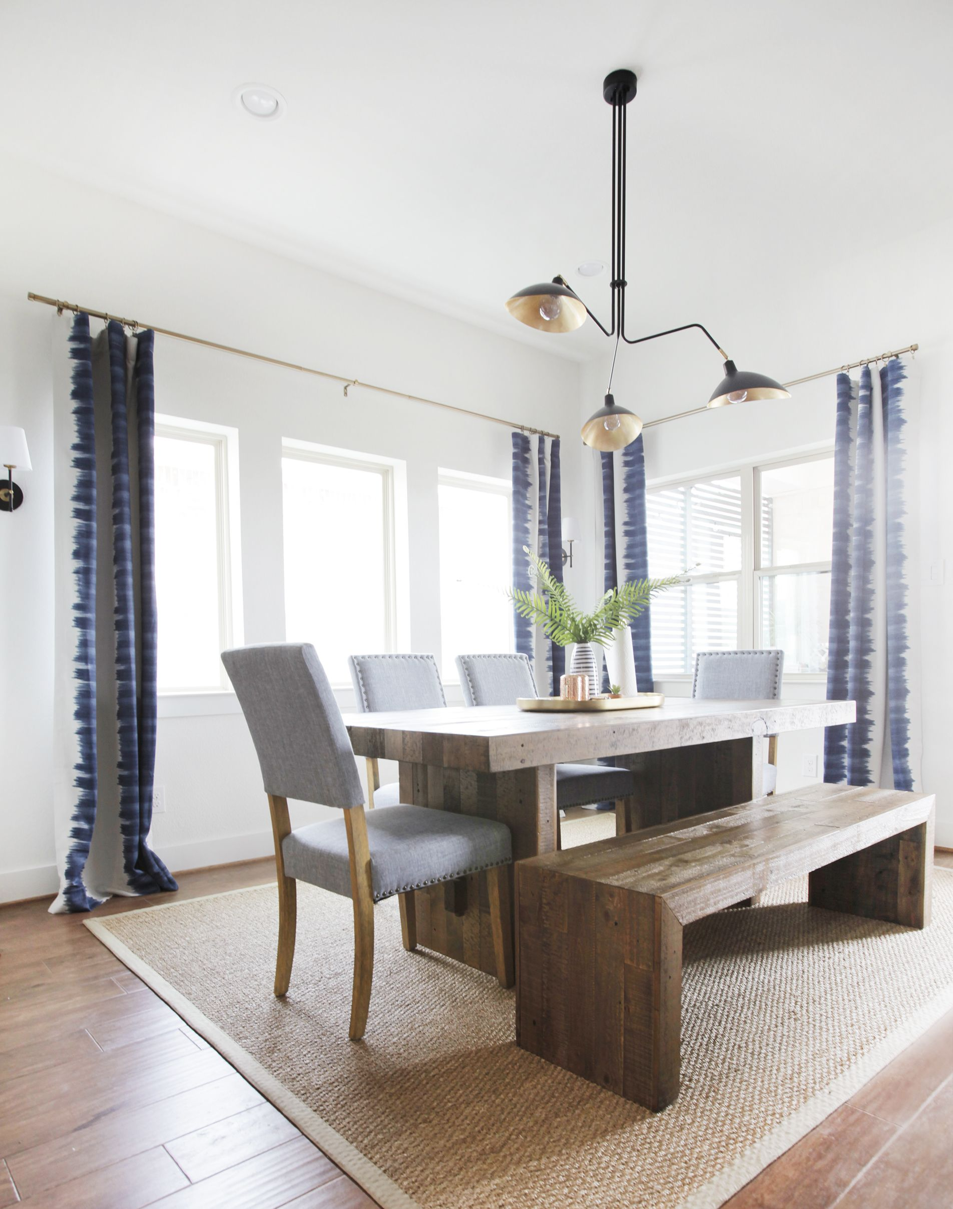 Dining Room Reveal PLUS a Giveaway! | Finished dining room, Boho interior  design, Rooms reveal