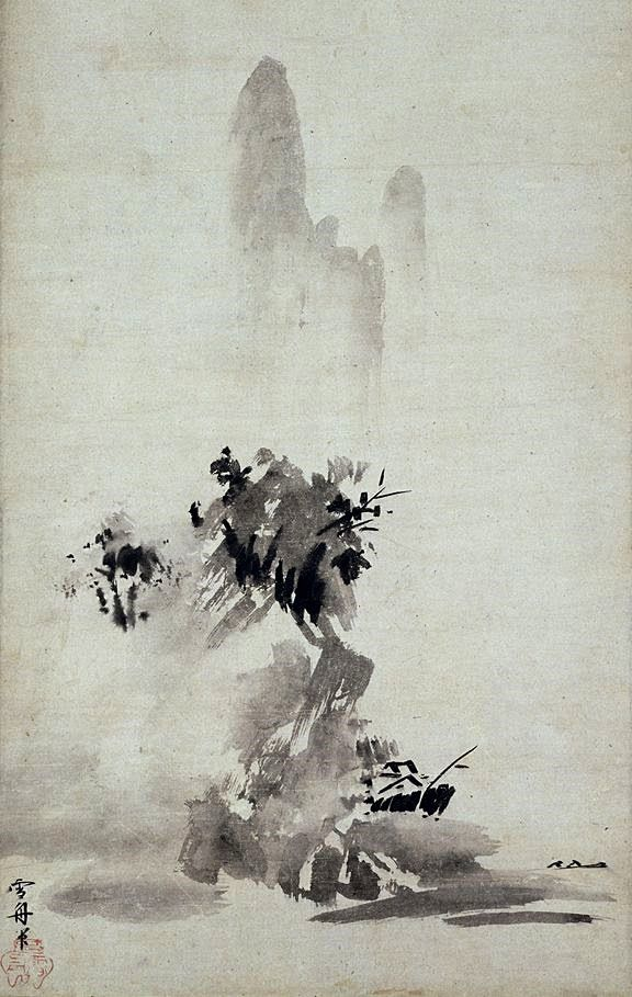 Final Session Japanese Ink Painting Zen Painting Japan Painting