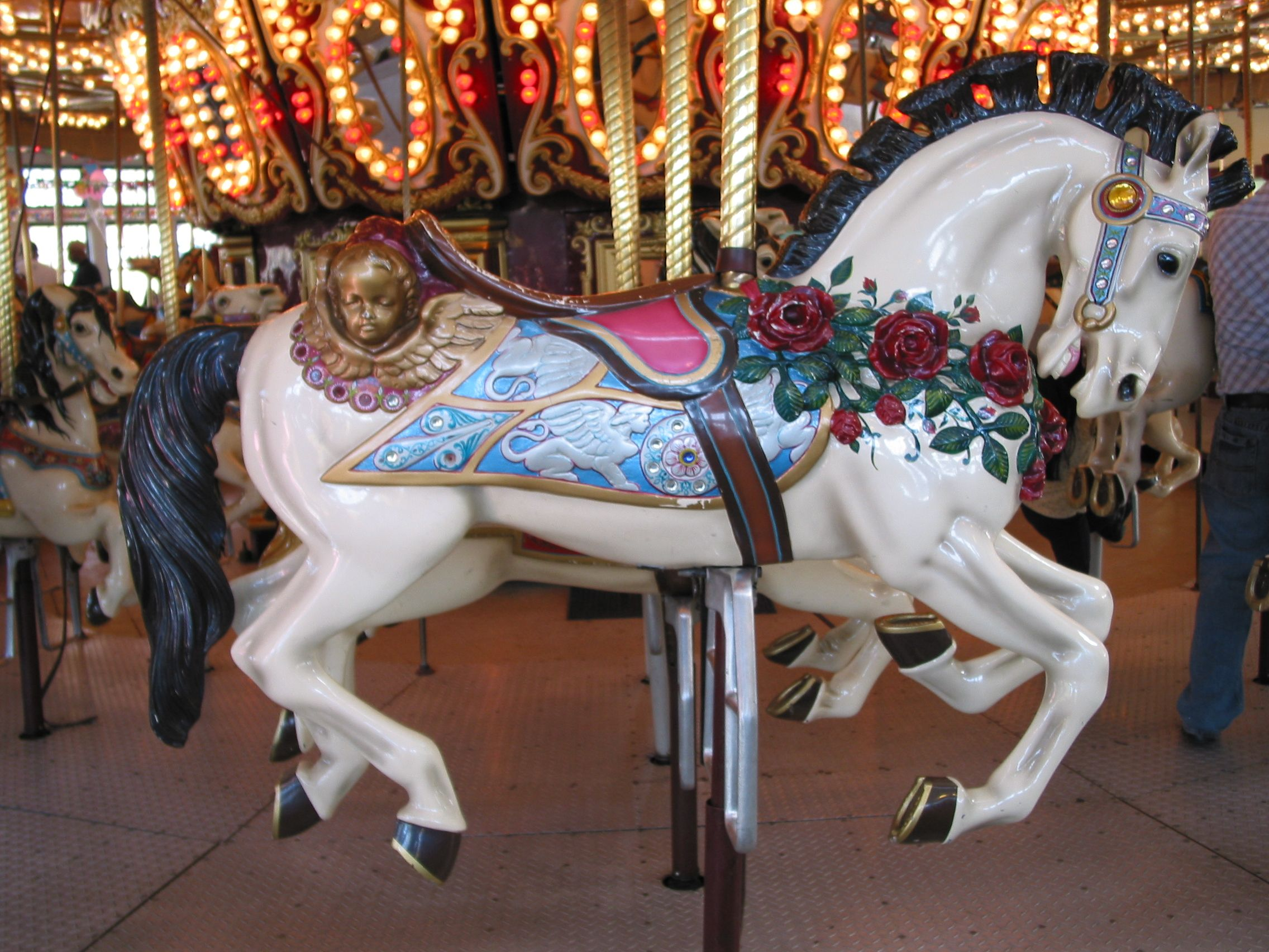 Google image result for httpuploadmediawikipedia carousels have fascinated me since the first time i tried to climb up on the handcrafted horse then i found books about carousels and my fascination grew geotapseo Images