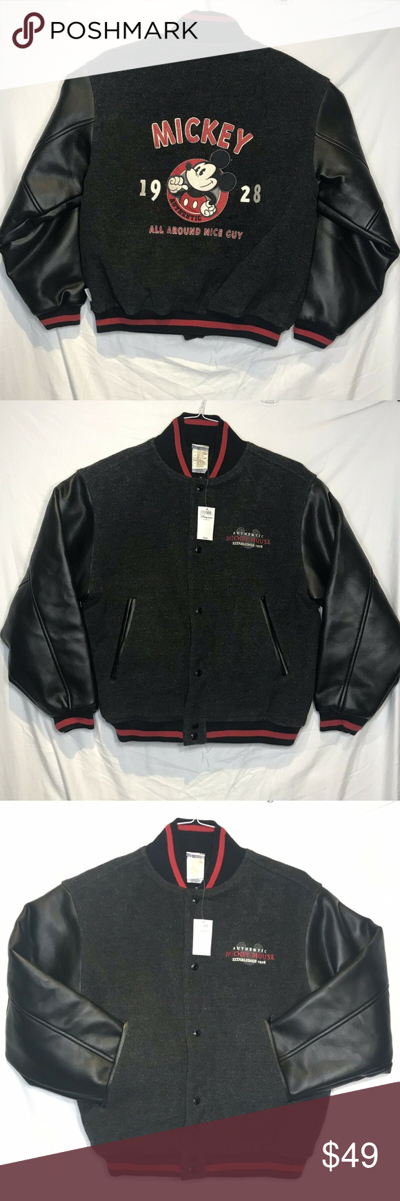 NWT Mickey Disney Store Small Wool Varsity Jacket NWT Vintage Mickey Disney Store Exclusive Letterman Varsity Jacket Wool Small.  Measurements in photos  Condition is New. Shipped with USPS Priority Mail. Disney Jackets & Coats Bomber & Varsity #varsityjacketoutfit