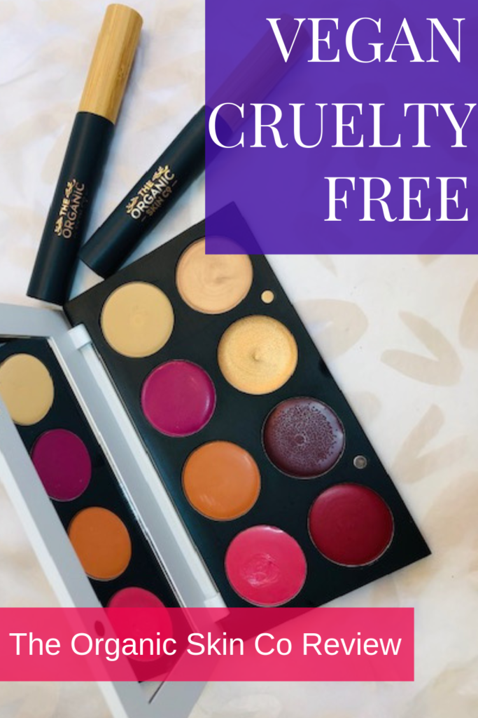 Cruelty Free Vegan Makeup The Organic Skin Co Review