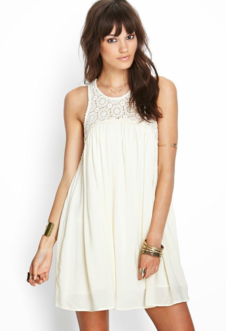 cf5e7e07041 Sencillos y originales vestidos de moda forever 21