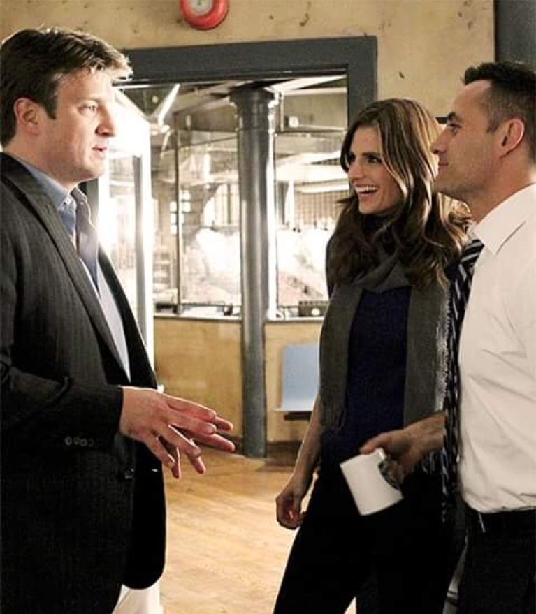 Pin By Heike Peters On Castle Behind The Scenes Castle Tv Shows Castle Tv Series Castle Tv