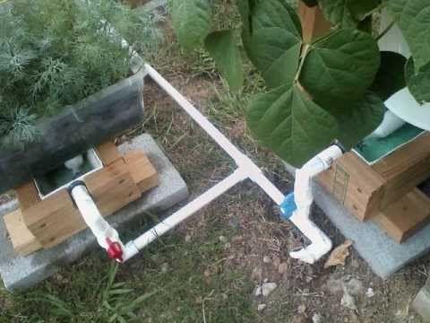 Self Watering Gutter Garden Scott S Very Impressive Self Watering Rain Gutter Garde Rain Gutters Grow System Gutter Garden