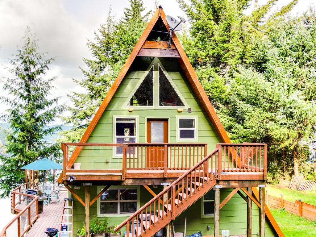 Partially chopped A-Frame | Places + Spaces | Pinterest