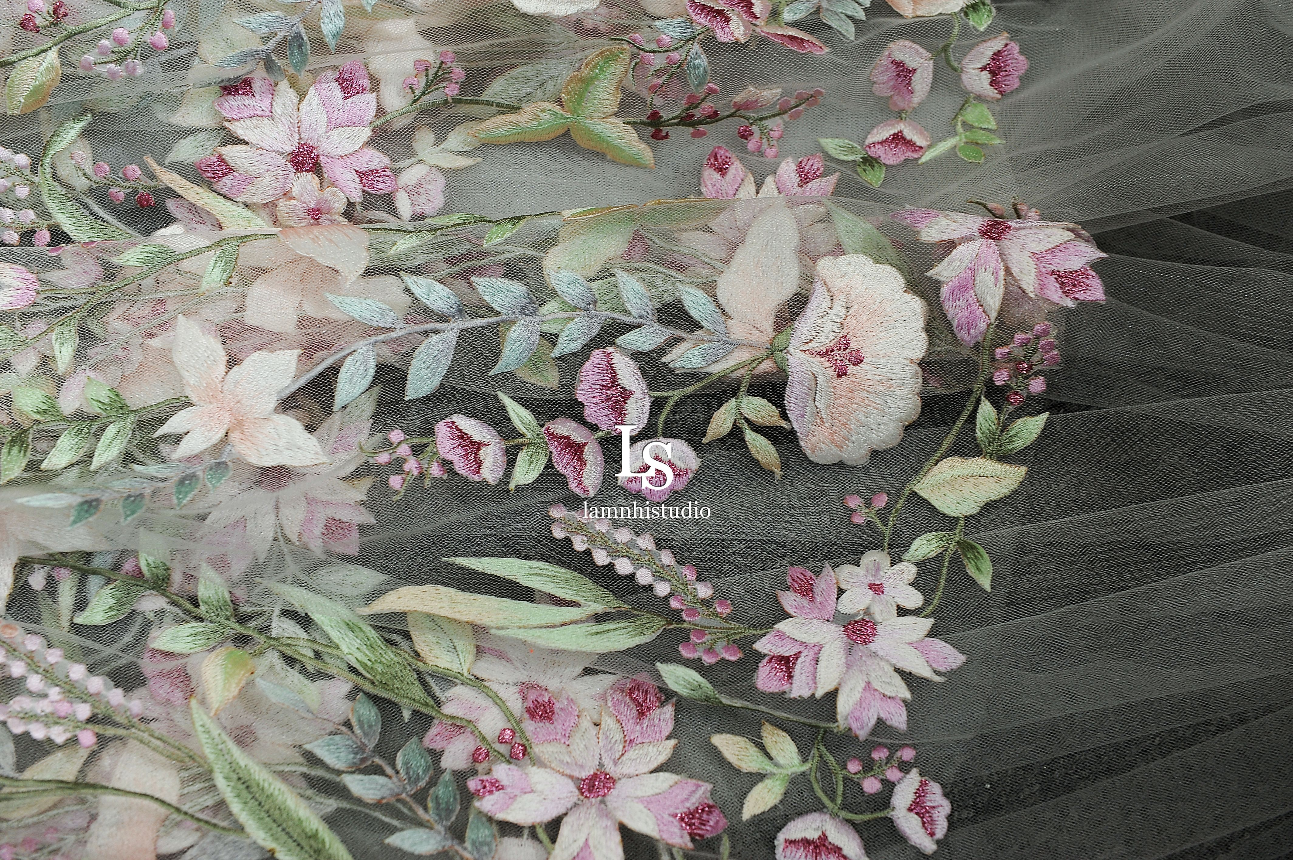embroidery flower trong 2020