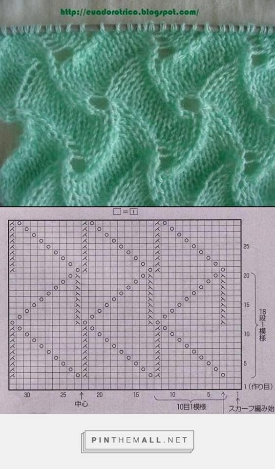 Pin von Dace Bruna auf kniting | Pinterest | Strickmuster, Stricken ...