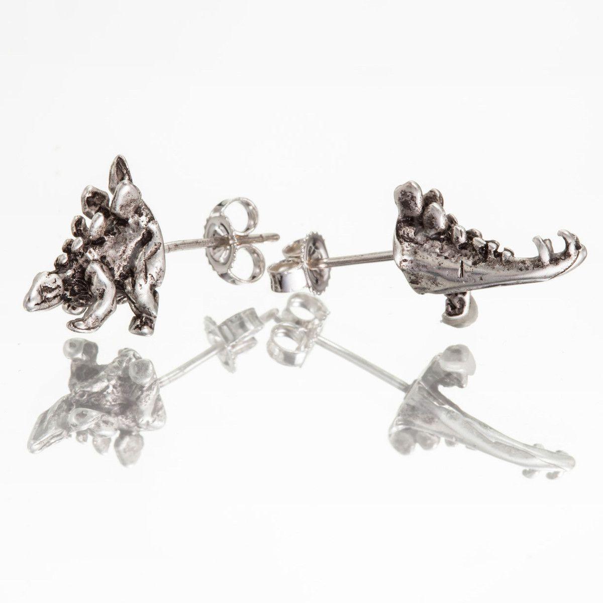 Stegosaurus Halfsies Earrings