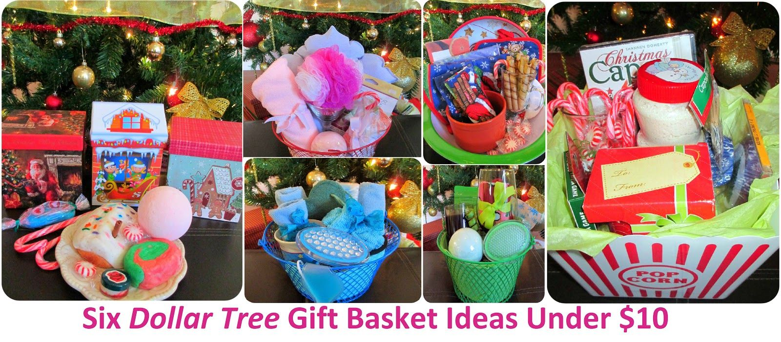 Pin By Amber Ligon On Homemade Gifts Homemade Christmas Gifts Dollar Store Gifts Cheap Gift Baskets