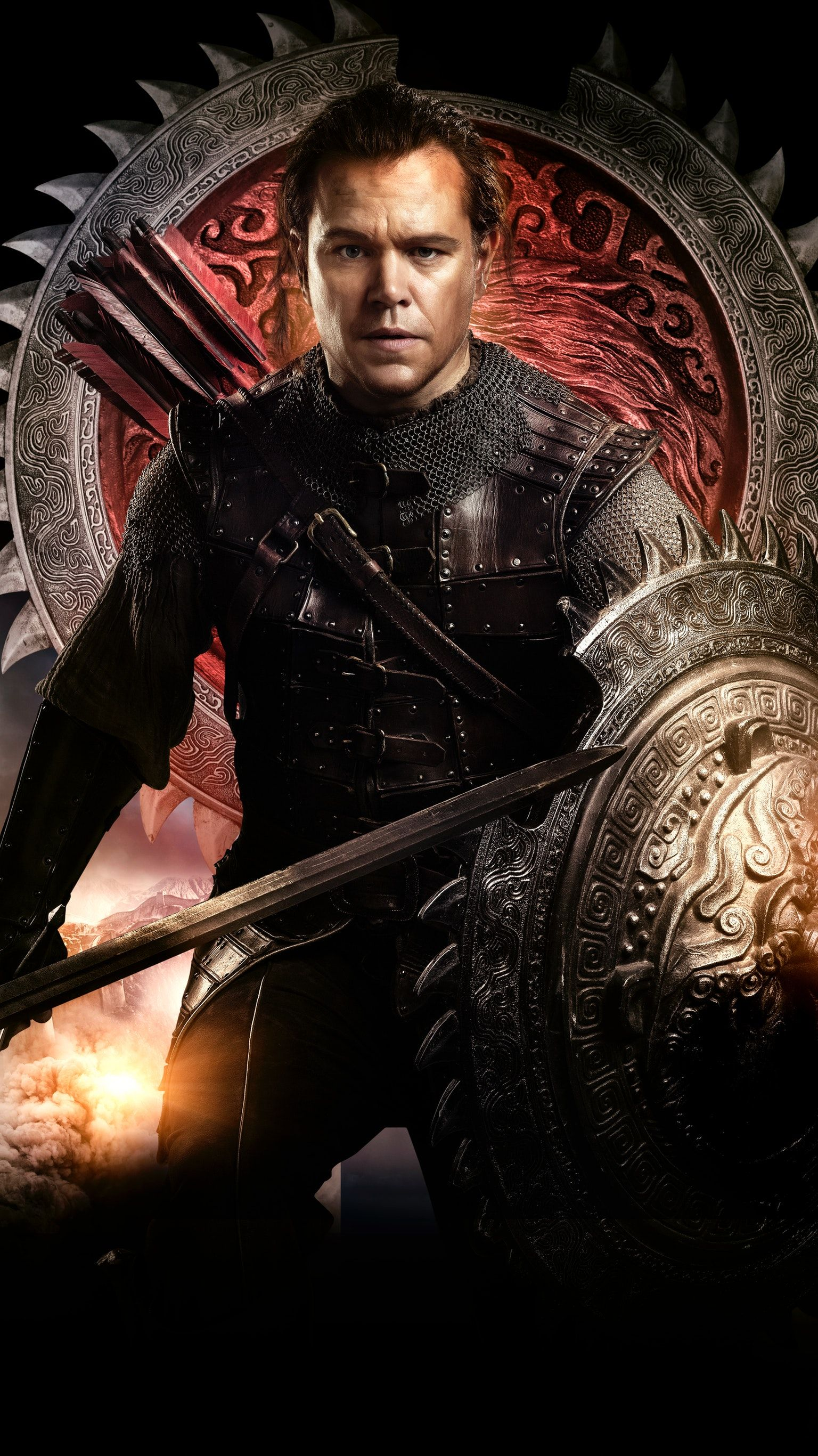 The Great Wall 2016 Phone Wallpaper New Movie Posters Top