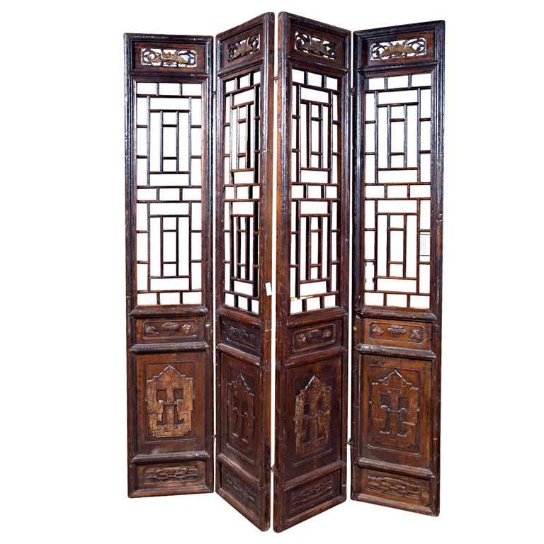 Chinese Carved Screen 19th Century In 2020 Antique Chinese Furniture Asian Decor Chinese Furniture