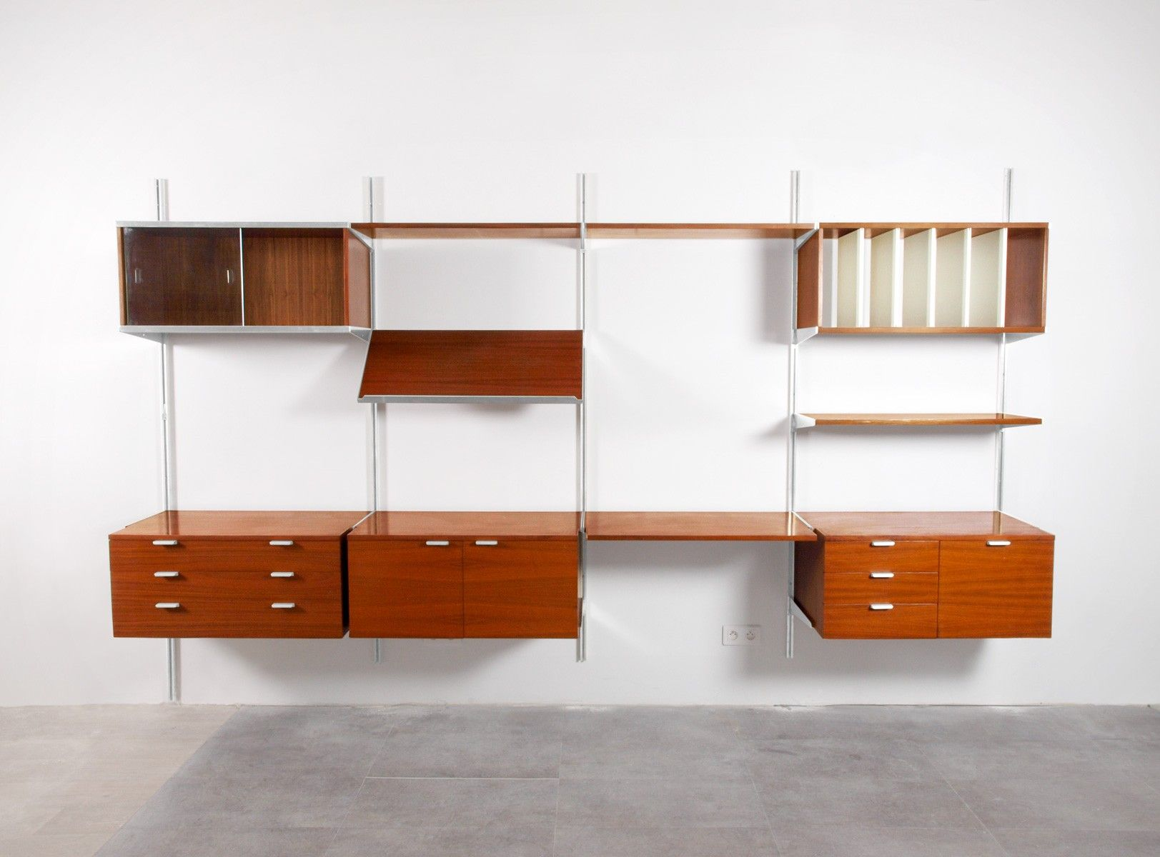 Bibliotheque Modulable Georges Nelson Css Pour Herman Miller