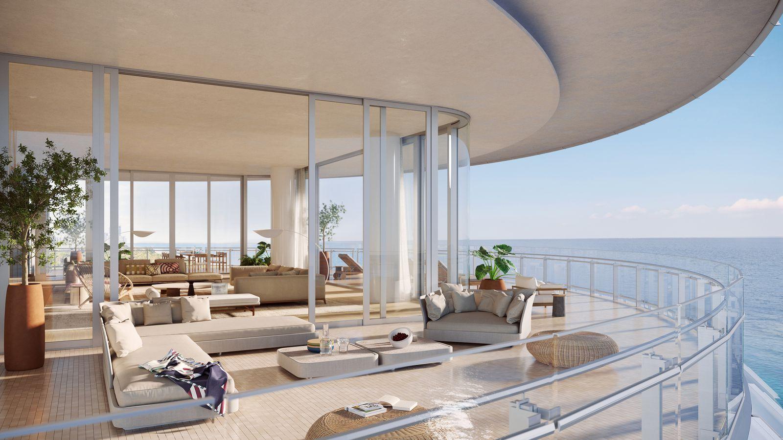 Interni Case Di Lusso Foto renzo piano's $68 million miami penthouse (con immagini
