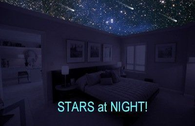 0eb65b8f7a4a6b958f61aff4fa1f6fadg 400259 cathyscoxyahoo totally invisible during the day and with the lights on the ceiling looks normal during the day starscape ceilings can include constellations in their aloadofball Gallery