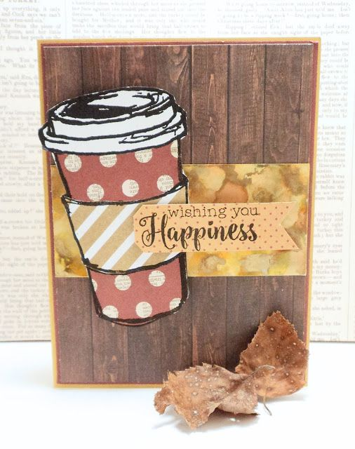 Stamps At Play: Happiness...in a Cup